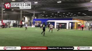 Deportivo FC vs. Internacional Finales Liga Latinoamericana