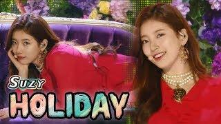 [Comeback Stage] SUZY - HOLIDAY, 수지 - 홀리데이 Show Music core 20180203