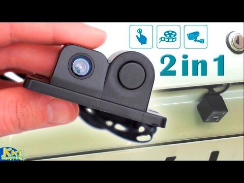 ВАЗ 2105 установка камеры заднего вида в паре с зеркалом-видеорегистратором