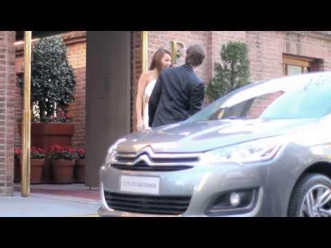 Pampita y el Nuevo Citroën C4 Lounge -- Video Fashion Clip