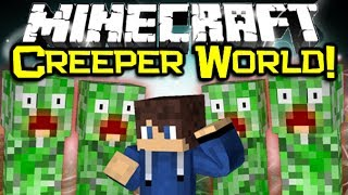 getlinkyoutube.com-Minecraft CREEPER DIMENSION MOD Spotlight! - All Things Creeper! (Minecraft Mod Showcase)