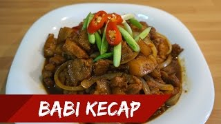 BABI KECAP (PORK IN SWEET SOY SAUCE) [ENG SUB] // MASAK BERSAMAKU #9