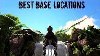 getlinkyoutube.com-BEST BUILDING LOCATIONS (2017) - The Island - ARK Survival
