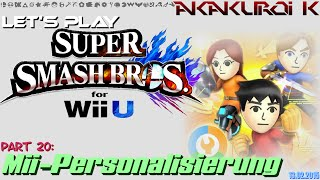 "getlinkyoutube.com-Let's Play ""Super Smash Bros. 4 WiiU"" [20] ~ Mii-Personalisierung (blind)"
