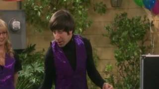 getlinkyoutube.com-Big Bang Theory - Howard's  magic trick (ba dum tss)