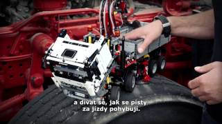 getlinkyoutube.com-Jak vznikal model LEGO Technic 42043 - Mercedes Benz Arocs 3245