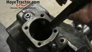 getlinkyoutube.com-Yanmar Tractor Steering Box Rebuild - Part 1