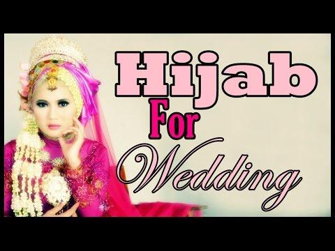 Tutorial Hijab Pengantin | Pashmina Hijab Tutorial by Didowardah Part #47