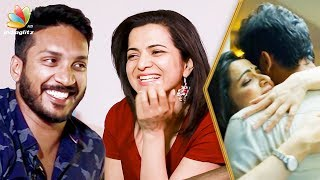 Dhivyadharshini & Sathish about their first love | Interview | Gautham Menon | Ulaviravu Song