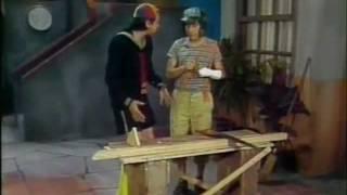El Chavo del Ocho - Capítulo 173 Parte 2 - Don Ramón carpintero 1 - 1977 width=