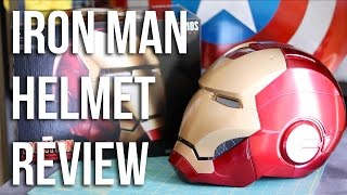 getlinkyoutube.com-Iron Man Replica Helmet Review | Hasbro Toys Marvel Legends Unboxing