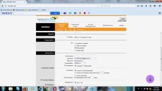 getlinkyoutube.com-Cara Seting Modem ZTE- ZXHN H108N