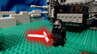 getlinkyoutube.com-Lego Star Wars the Force Awakens: Kylo Ren's Attack on Takodana
