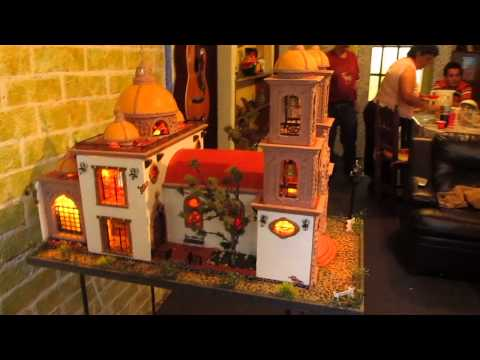 miniature handmade church