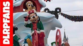 getlinkyoutube.com-First Christmas Parade 2016 at Disneyland Paris