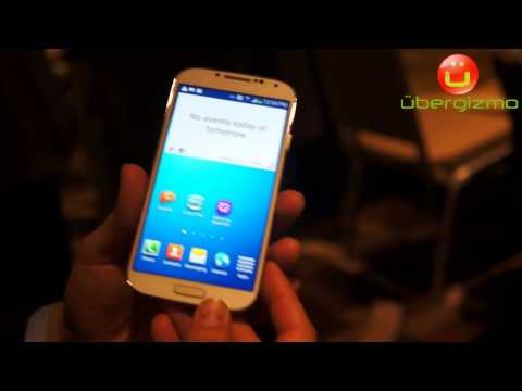 Samsung Galaxy S4 Hands-On Preview
