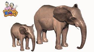 getlinkyoutube.com-เพลงช้าง ช้าง ช้าง เพลงเด็ก   The Elephant Song for Kids  3D Animated HD