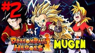getlinkyoutube.com-The God Slayer: Super Saiyan Pan! | Dragon Ball Heroes: MUGEN - Episode 2