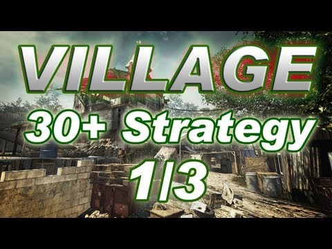 MW3 SURVIVAL MODE: Wave 30+ Co-op Strategy for VILLAGE! (Part 1/3)