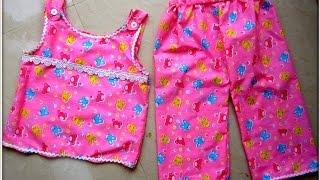 getlinkyoutube.com-EASY SEW NIGHT WEAR FOR KIDS...........