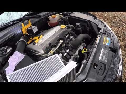 How To Change a Cabin Air Filter. SAAB