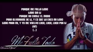 getlinkyoutube.com-Cromo X - Me Falta Todo y Lyrics HD