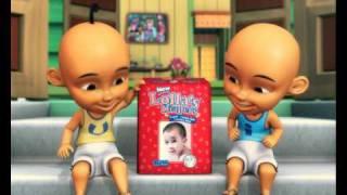 getlinkyoutube.com-Lolla's Baby Diapers: Upin & Ipin TV Commercial (30 secs)