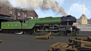 getlinkyoutube.com-Flying Scotsman Steam Engine 3D Animation