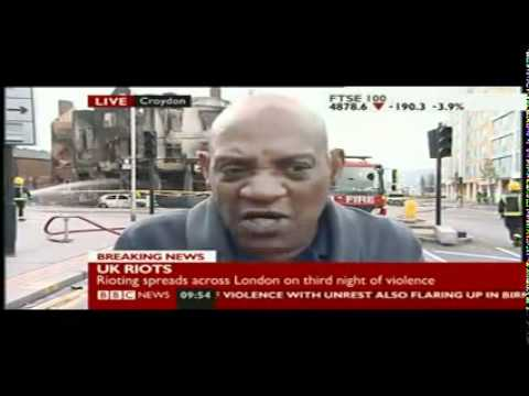 Darcus Howe BBC News Interview On Riots