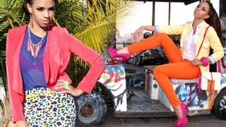 getlinkyoutube.com-Bright Colors! 9 Outfit Ideas - Spring Fashion Outfits with Bright Colors & Neon Lookbook