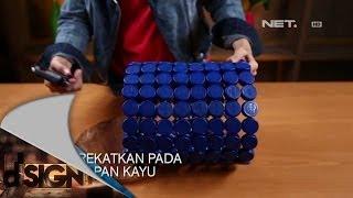 getlinkyoutube.com-Dsign - Handcraft - Tempat sampah dari tutup botol