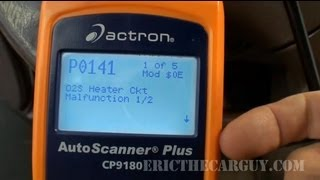 getlinkyoutube.com-P0141 Diagnosing O2 Sensor Heater Failure Codes -EricTheCarGuy