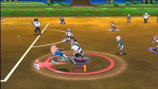 getlinkyoutube.com-[Inazuma Eleven Strikers 2012 Extreme] Inazuma Japan VS Neo Japan