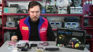 getlinkyoutube.com-POPBOT-робот на базе Arduino