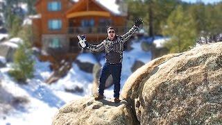 getlinkyoutube.com-SCARY ICE BOULDER CLIMB! - #DBEJCKWinterVacay