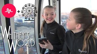 getlinkyoutube.com-Musical.ly on a Ferris Wheel | Whitney and Blakely