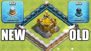 getlinkyoutube.com-OLD WALLS vs. NEW WALLS!!!🔸GEM SPREE TO LVL 12 UPGRADES!!🔸Clash of clans