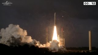 getlinkyoutube.com-[Ariane 5, mission VA222] Launch of Thor 7 and Sicral 2