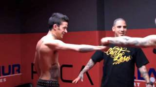 getlinkyoutube.com-NY INK - CHRIS TORRES VS AMI JAMES SPAR REMATCH
