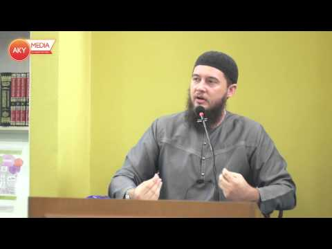 [Sunday Class] Fundamentals of Tawheed by Ustaz Shareef El-Arbi 16.03.14