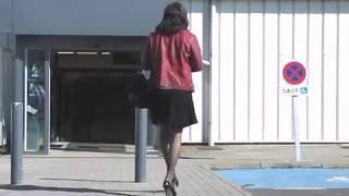 """getlinkyoutube.com-Stockings and 5"""" high heels for Shopping (2) - Tranvestite - Crossdresser"""