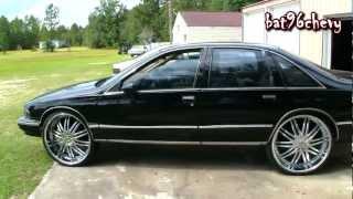 "getlinkyoutube.com-Black 94 Chevy Caprice on 26"" Lexani's - 1080p HD"