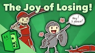 The Joy of Losing - Learning to Have Fun Playing Games - Extra Credits width=