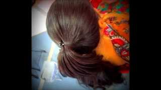 getlinkyoutube.com-Tight Sleek Ponytail