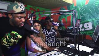 getlinkyoutube.com-Sarkodie, Pae dae, EL, Dee Moneey, Eazzy + more freestyle on YFM Ghana