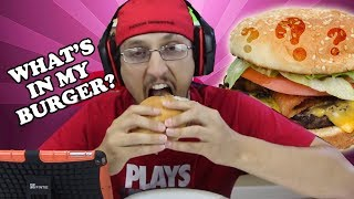 getlinkyoutube.com-WHAT'S IN MY BURGER?  The Nastiest, Grossest Video Ever! ... on our channel. (FGTEEV gross GAMEPLAY)