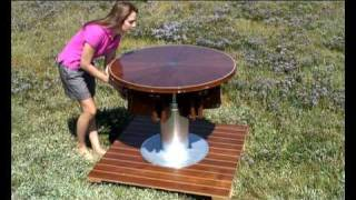 getlinkyoutube.com-Rising and Furling Table