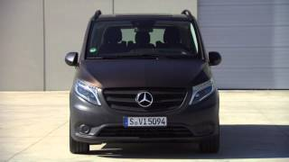 getlinkyoutube.com-2015 Mercedes Benz Vito Tourer PRO 116 CDI Interior and Exterior