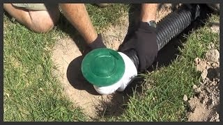 getlinkyoutube.com-How to install a lawn pop-up drain