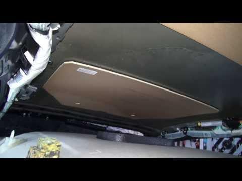 Passat B6 Разборка потолка (Headliner Removal)